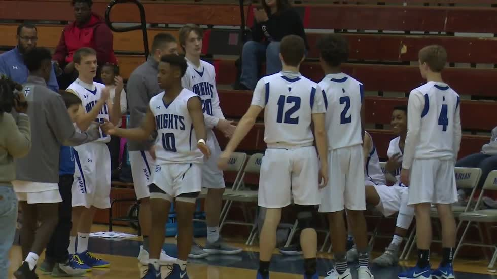 Michael Hemingway leads Marian in holiday tournament win
