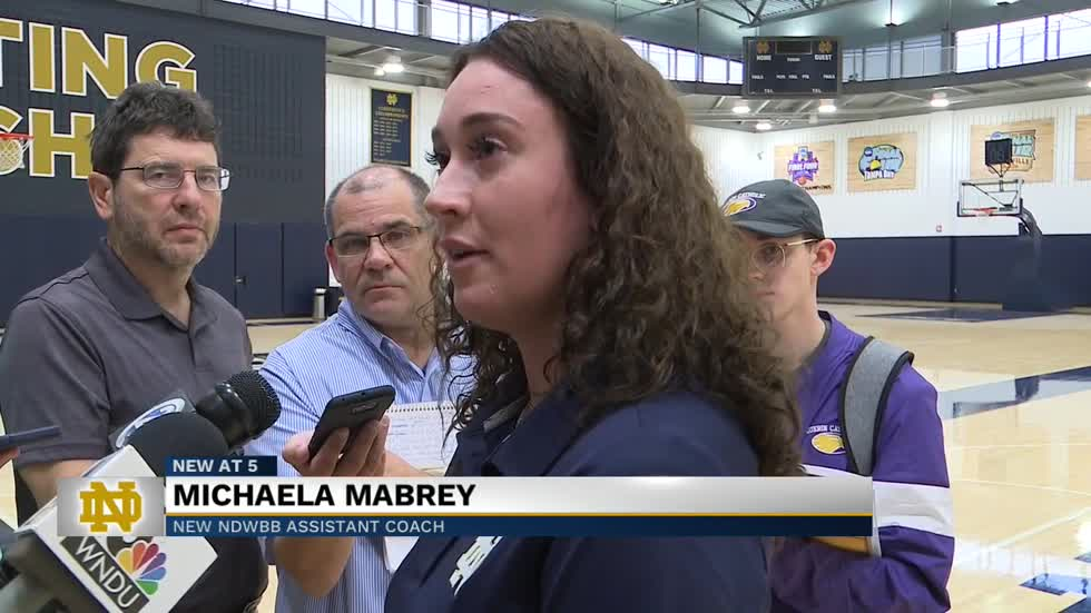 Michaela Mabrey returns to Notre Dame as women's basketball assistant coach