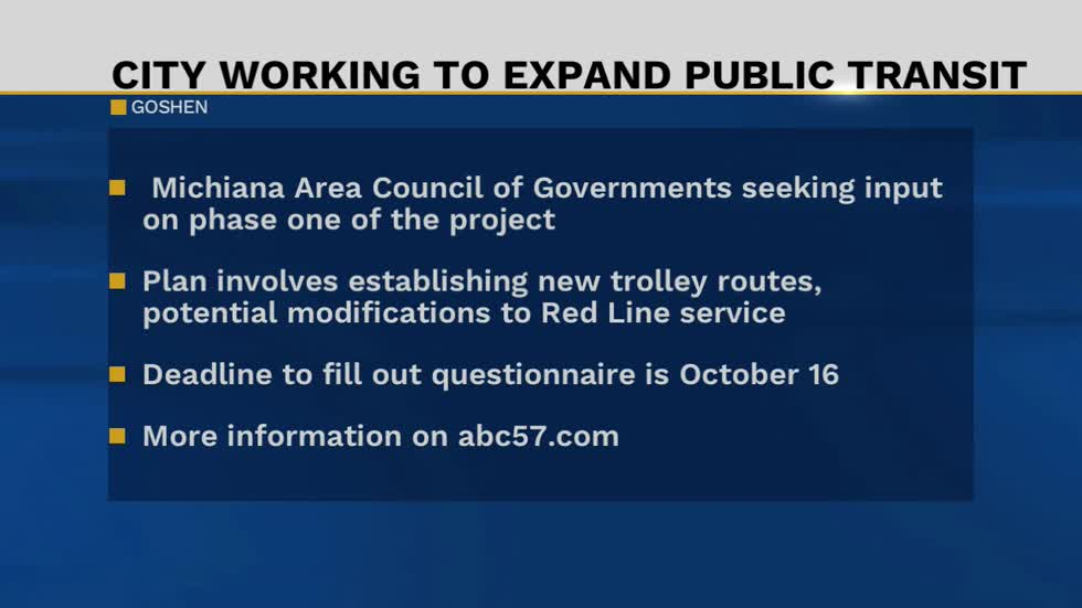 Michiana Area Council of Government asking for public input on...