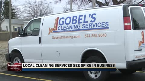 Michiana cleaning service sees increase in business due to coronavirus