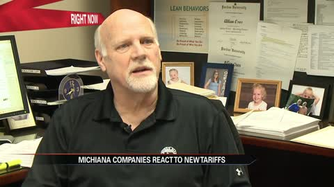 Michiana companies react to new tariffs on Aluminum and Steel