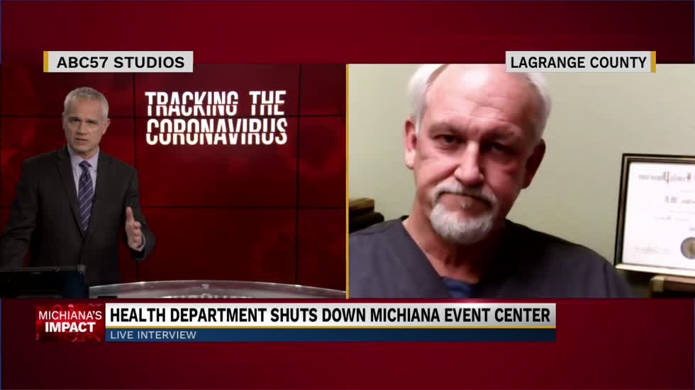 Michiana Event Center shut down due to COVID-19 restriction violations