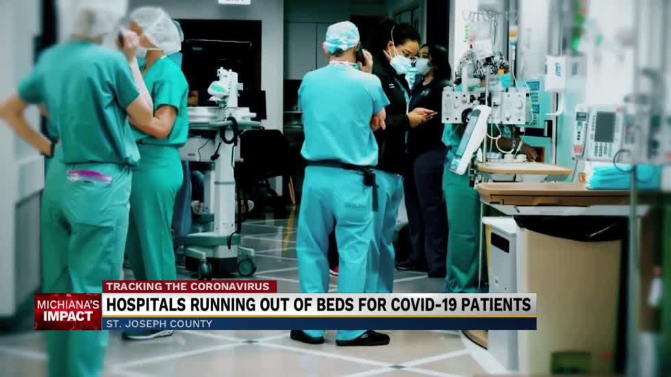 Michiana Hospitals 'overwhelmed' by COVID-19 patients