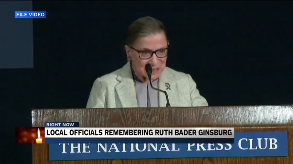 Michiana residents remember Ruth Bader Ginsburg