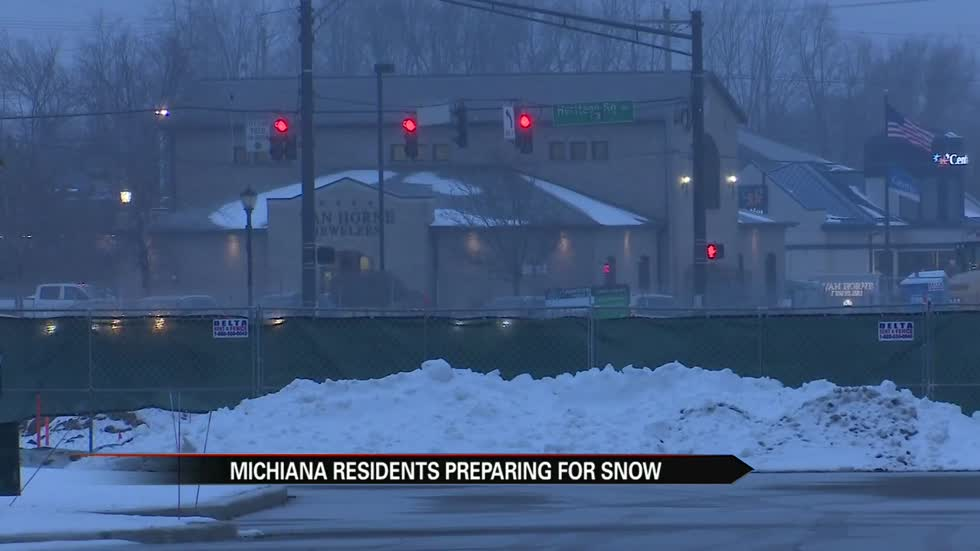 Many Michiana residents prepped, ready for winter storm