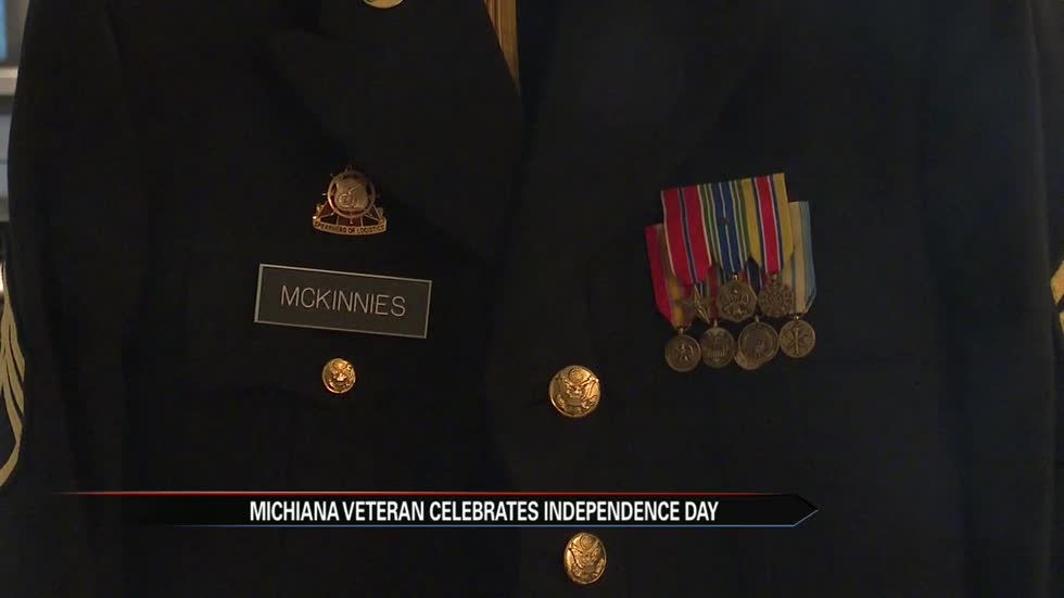 Michiana veteran celebrates Independence Day