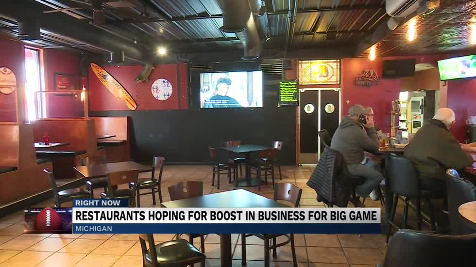 Michigan bars and restaurant see big game boost on Sunday