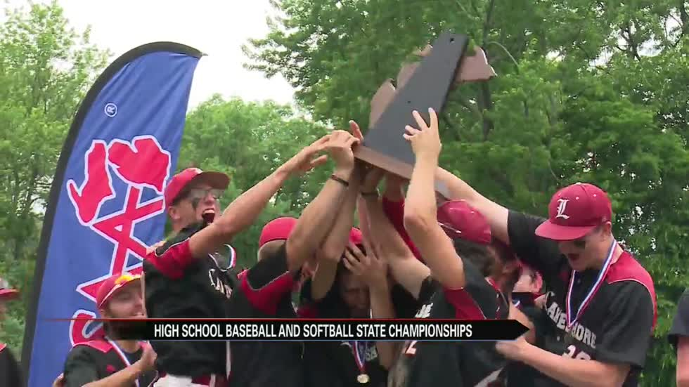 Lakeshore baseball and Coloma softball capture state titles