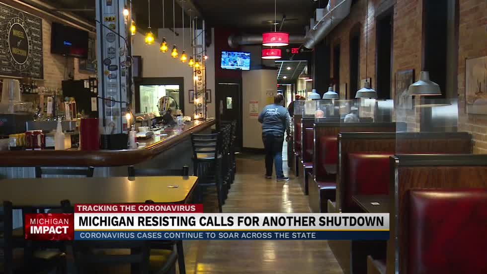 Michigan businesses not ready for another lockdown