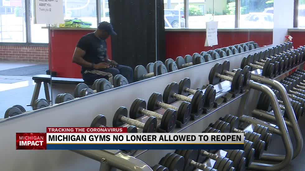 Local Michigan gym staying open despite appeals court ruling