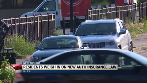 Residents weigh in on new auto insurance law