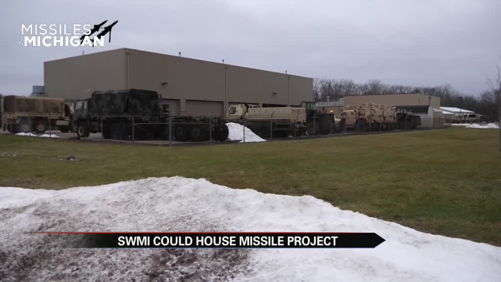 Michigan one of 3 possible sites for intercept missile facility