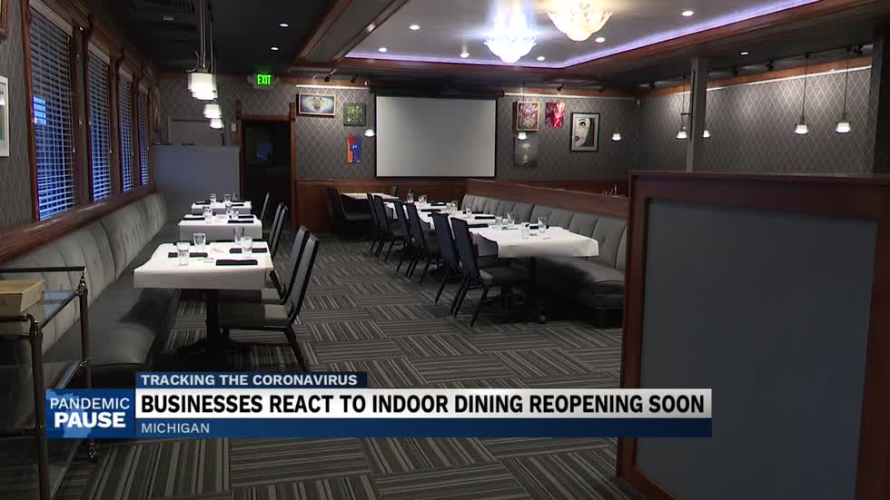 Michigan restaurants prepare for the return of dine-in customers