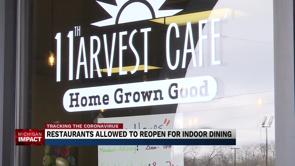 MI restaurants reopen as study claims COVID restrictions saved thousands