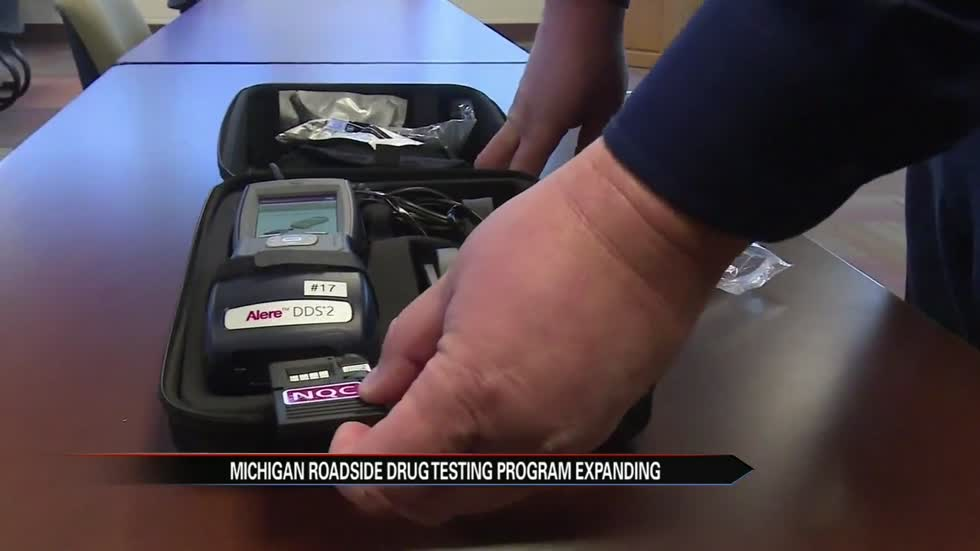 Michigan roadside drug testing program expanding