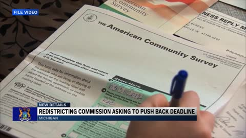 Michigan's Redistricting Commission requesting an extension...