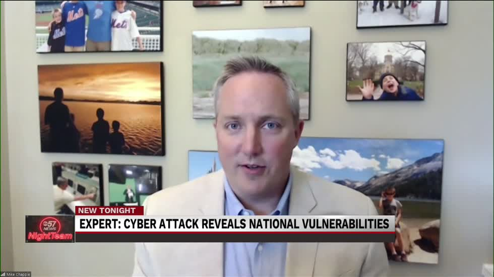 ABC 57 News interviews Notre Dame Professor on Colonial Ransomware...