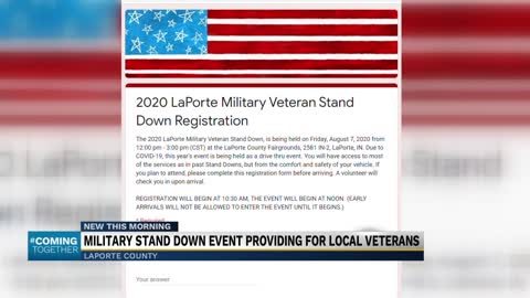 Military veteran stand down event helping local veterans