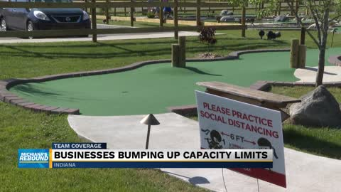 Miniature golf locations expect more crowds with stage 4