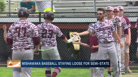 Mishawaka baseball staying loose during Semi-State run