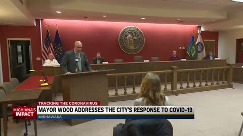 Mishawaka Mayor Dave Wood talks city's COVID-19 response