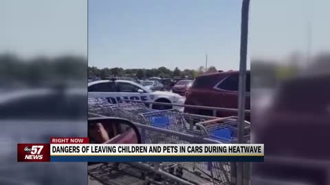Mishawaka Police warn about dangers of leaving children in hot...
