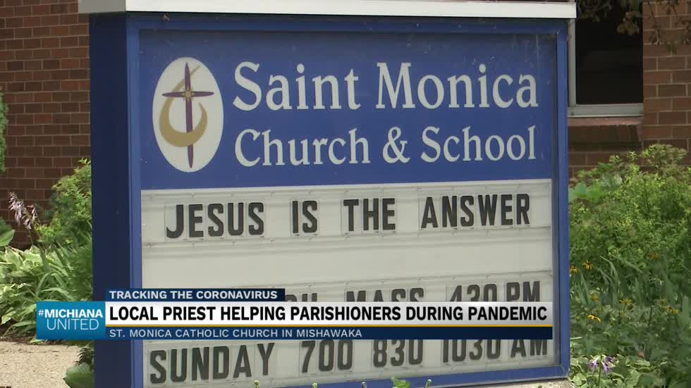 Mishawaka priest reaching out to parishioners through technology