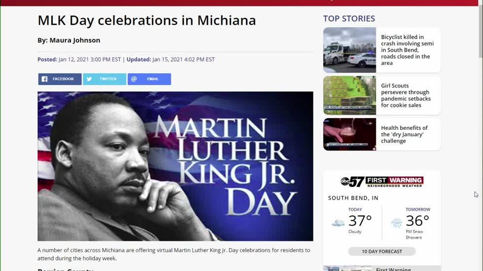 MLK Day celebrations in Michiana