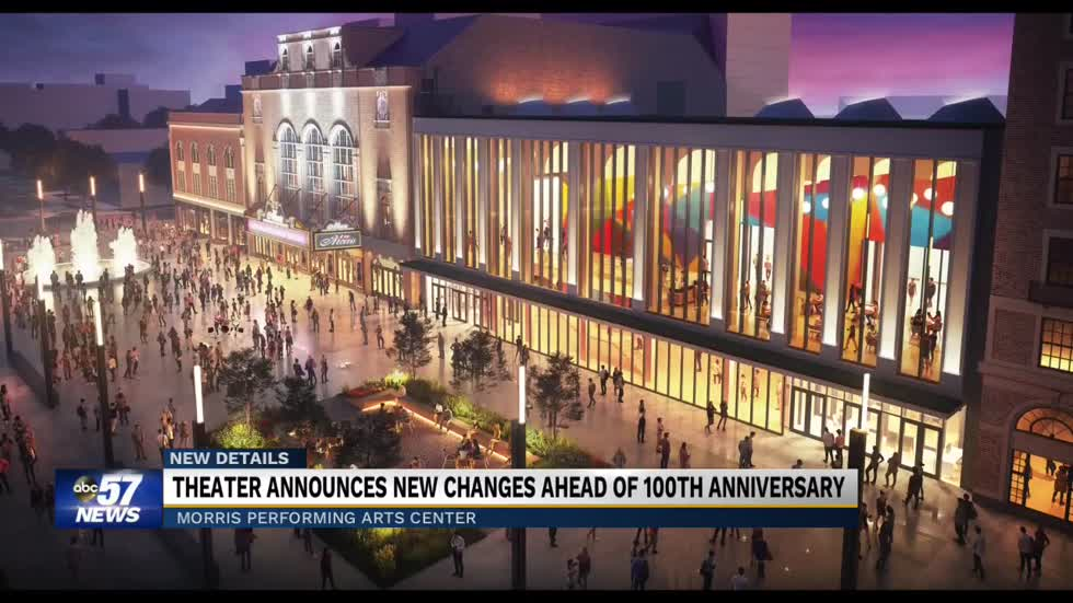 Morris Performing Arts Center announces new changes ahead of 100th anniversary