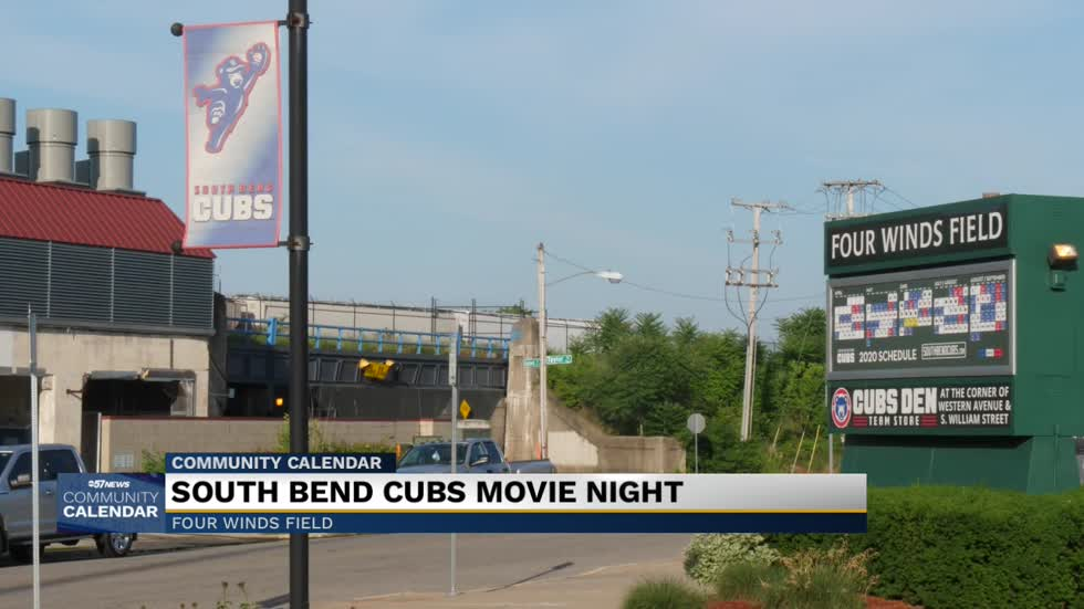 Movie night at Four Winds Field