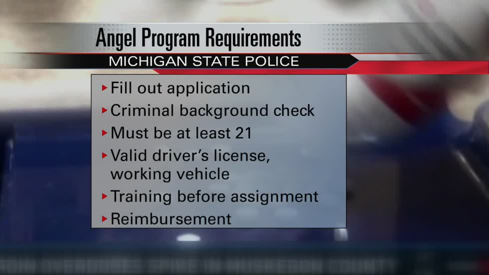 "State police in Niles searching for ""Angel"" volunteers"