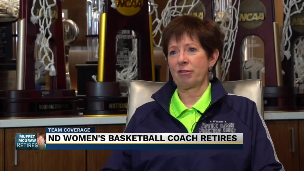 Muffet McGraw discusses her decision to retire and her legacy at Notre Dame