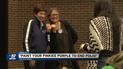 Muffet McGraw teams up with the Rotary Club of South Bend for a special cause