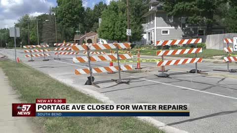 Multiple streets in South Bend close down for paving, crosswalk replacements