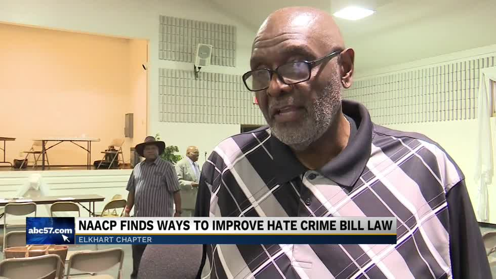 NAACP's Elkhart chapter is trying to find ways to expand Indiana's hate crime law