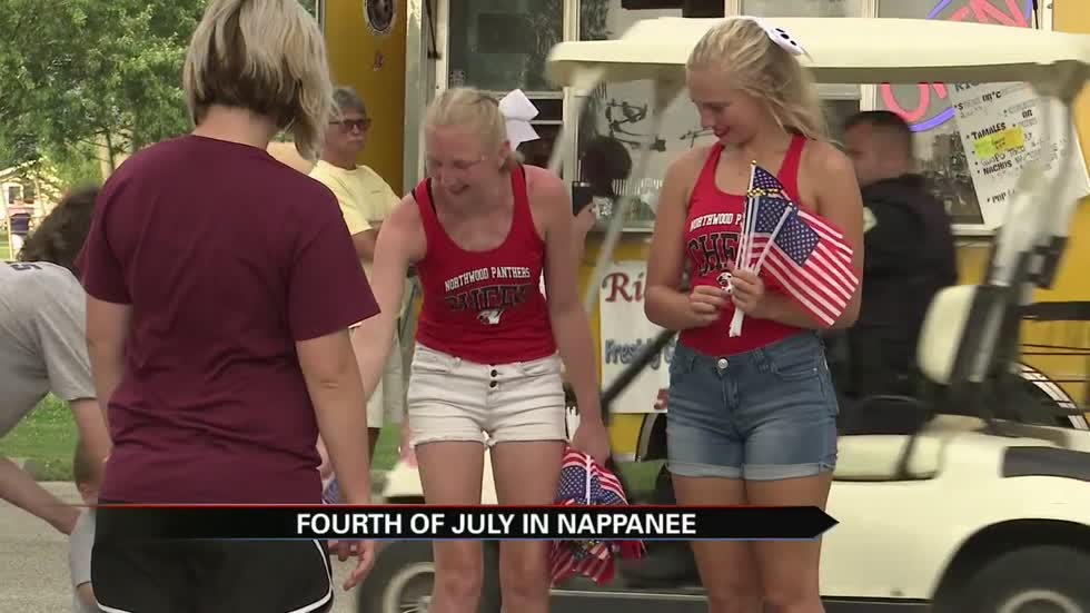 Nappanee celebrates Fourth of July with parade, fireworks