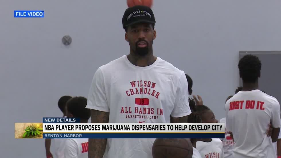 NBA player and Benton Harbor grad Wilson Chandler investing in downtown development