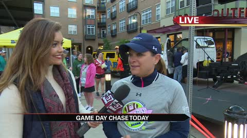 Paqui Kelly on the 2017 Game Day Chase