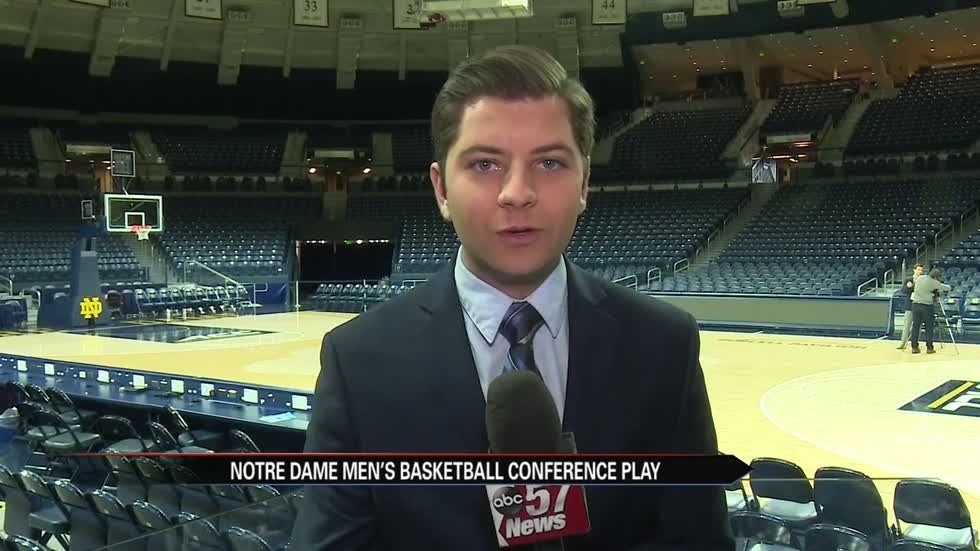 ND men's hoops falls to Syracuse in ACC home opener