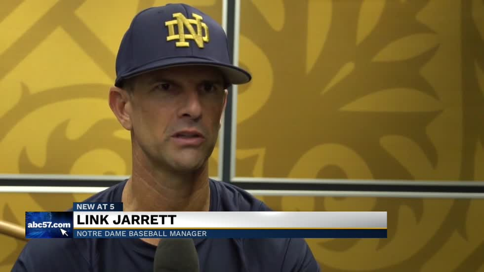 Notre Dame officially welcomes Link Jarrett as their new baseball coach