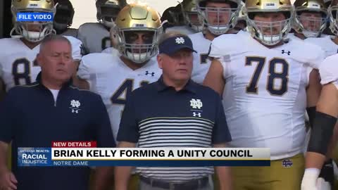 Notre Dame football creates unity council