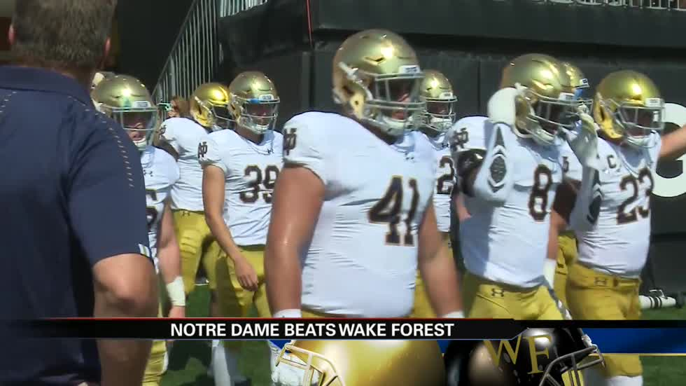 Notre Dame vs. Wake Forest