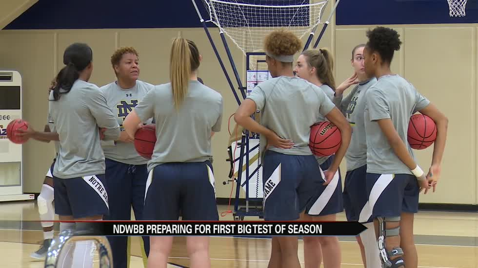 Notre Dame women's hoops prep for first big test amid signing day