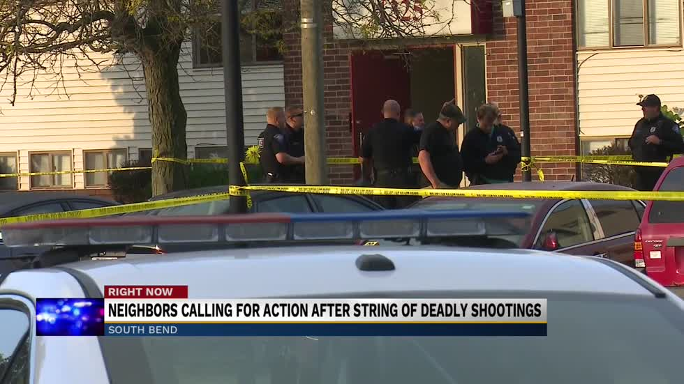Neighbors calling for action after string of deadly shootings