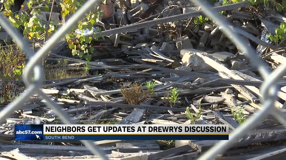 Drewrys owner answers questions from public at meeting Thursday