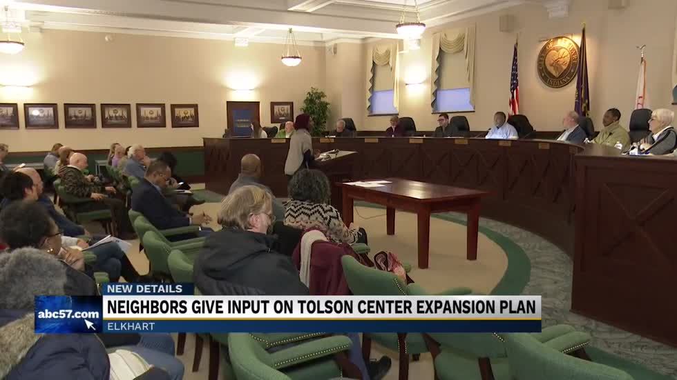 Neighbors give input on Tolson Center expansion plan