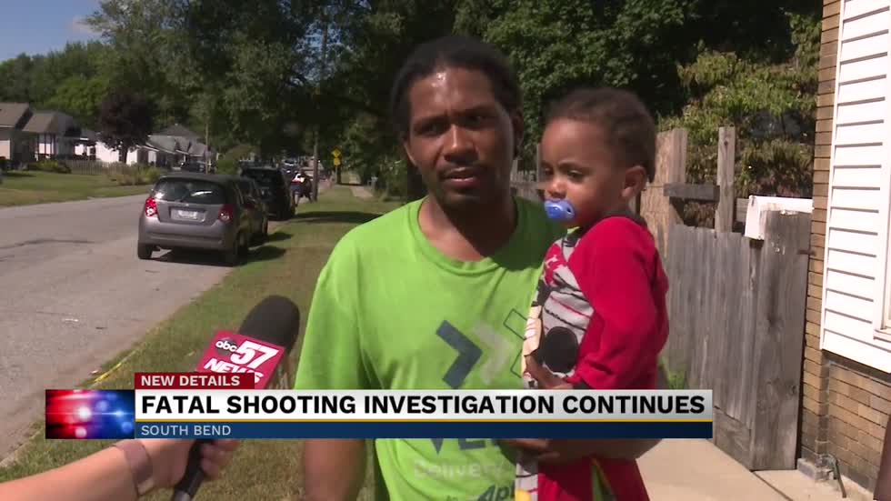 Neighbors react to deadly shooting in South Bend