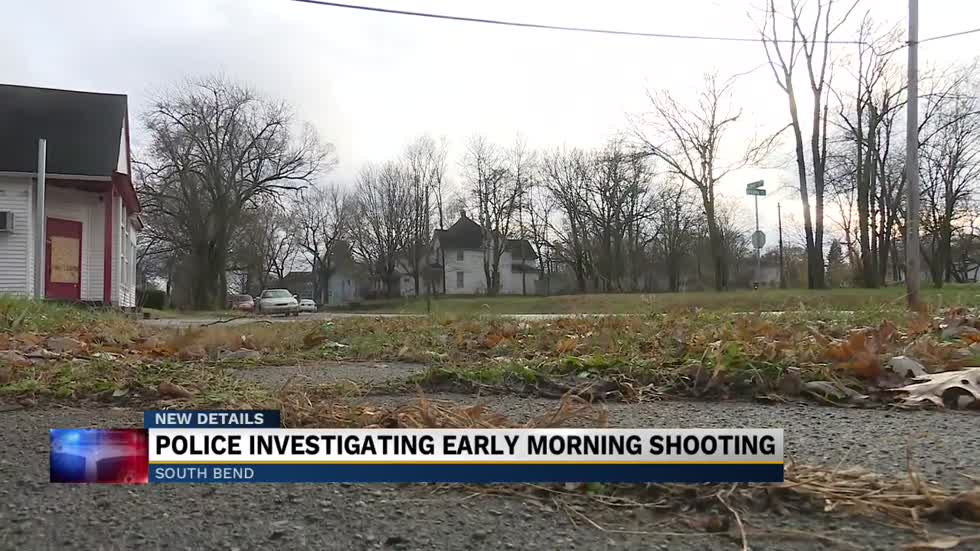 Neighbors react to early morning shooting in South Bend