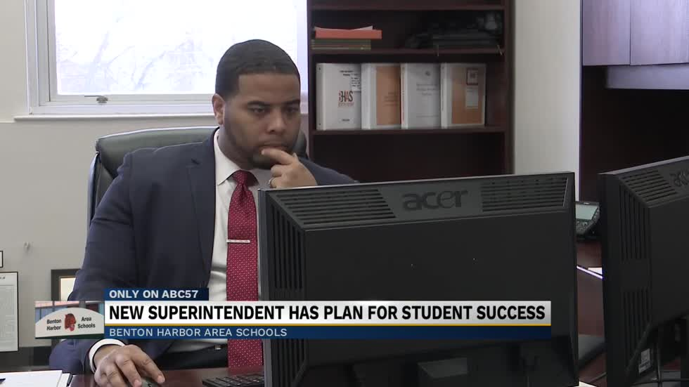 New Benton Harbor Schools Superintendent on a mission to turn district around