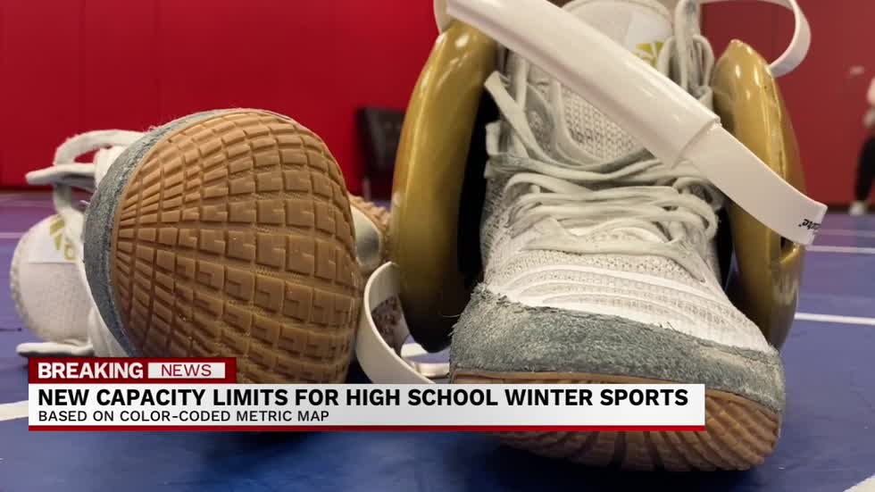 High School athletics will see new capacity limits as we move towards winter
